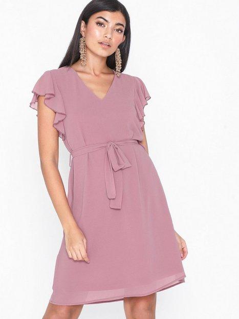 ad05d000287b NLY Trend Mesh Frill Dress Tætsiddende kjoler