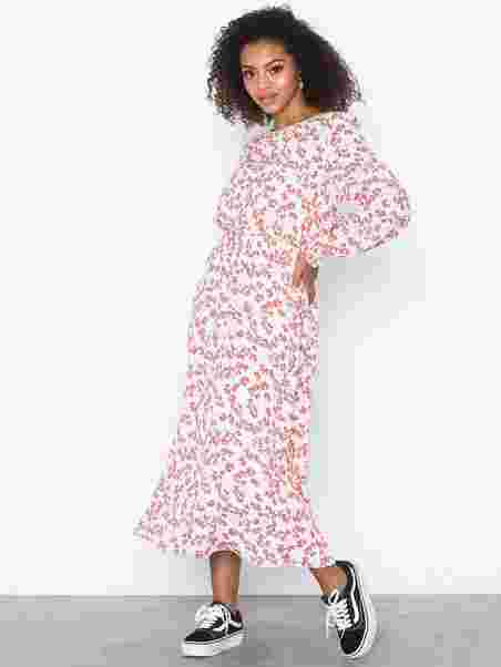 f4281adb Evie Dress - Sisters Point - Cream/Red - Kjoler - Tøj - Kvinde ...