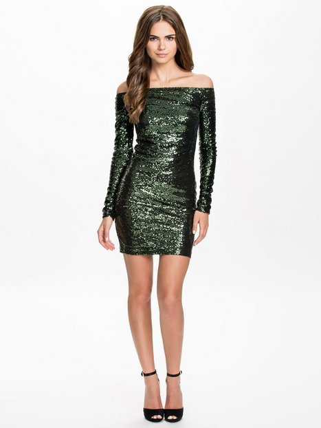 Catch Up Sequin Dress