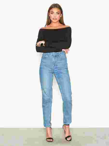 d44588e00cb Off Duty Shoulder Top - Nly Trend - Black - Tops - Clothing - Women ...
