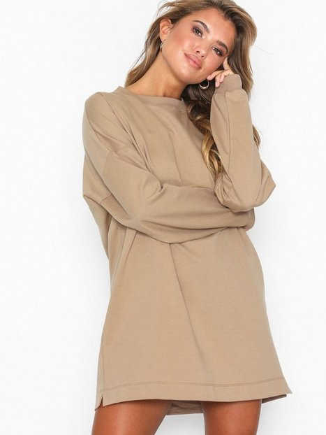 Billede af NLY Trend Through The Hood Sweat Sweatshirts Beige
