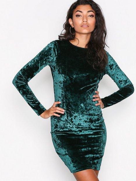 Crushed Velvet Mini Dress