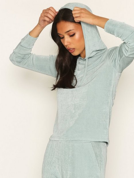 NLY Trend Glam Hoodie Set Jumpsuits Sea Spray thumbnail