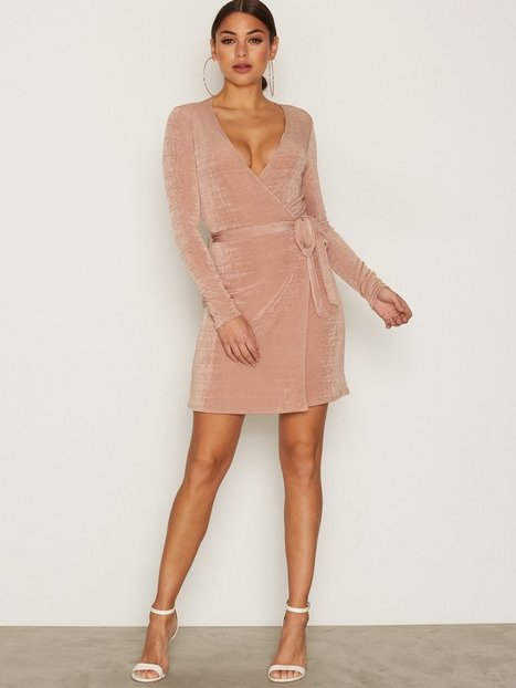 Glam Wrap Dress