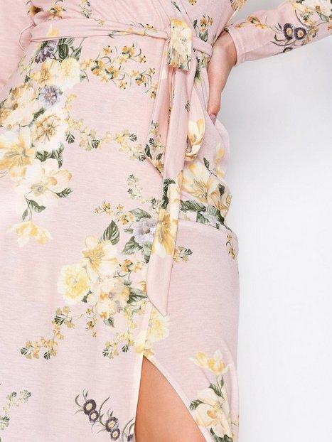 Jersey Printed Maxi Dress
