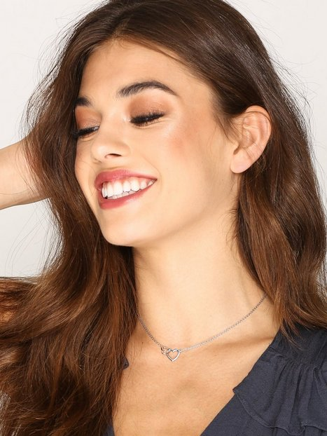 SOPHIE By SOPHIE Two heart necklace Halsband Silver thumbnail