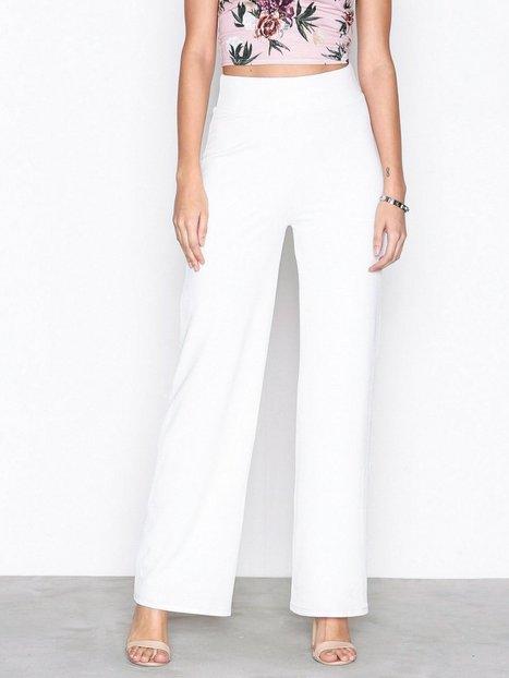 Billede af NLY Trend Crepe Straight Pants Bukser Hvid