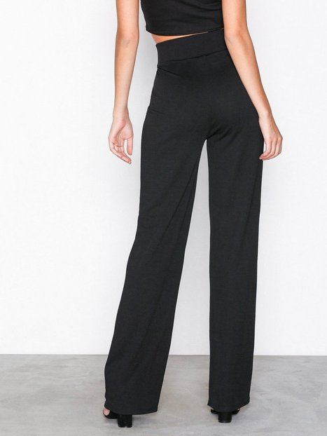 Crepe Straight Pants