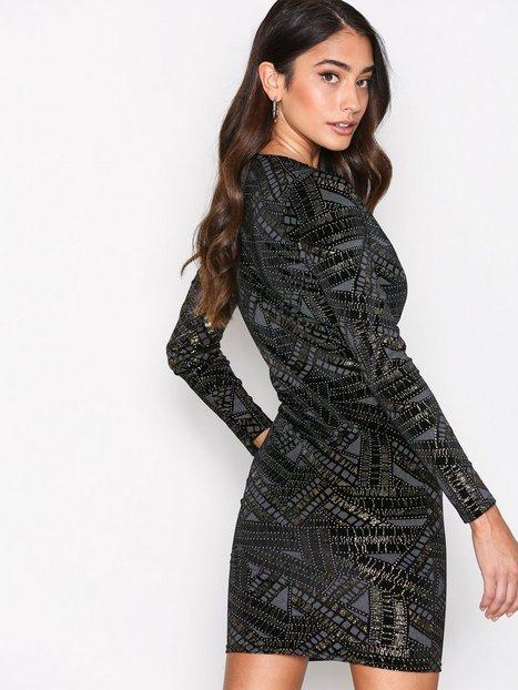 Famous V Drop Dress