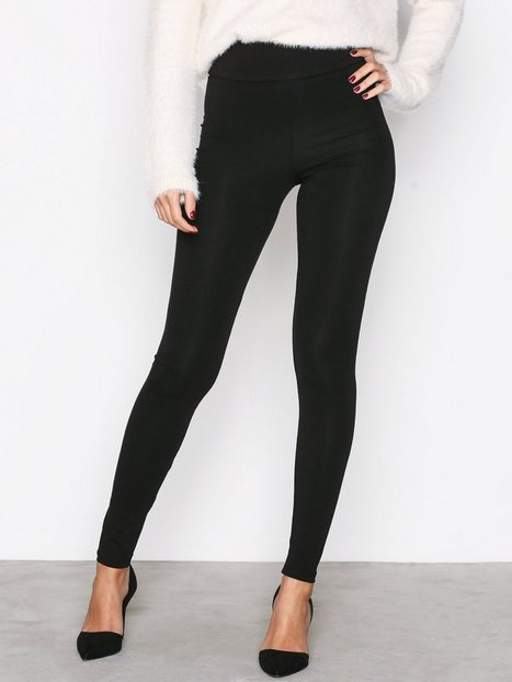 Billede af NLY Trend High Waist Leggings Leggings Sort