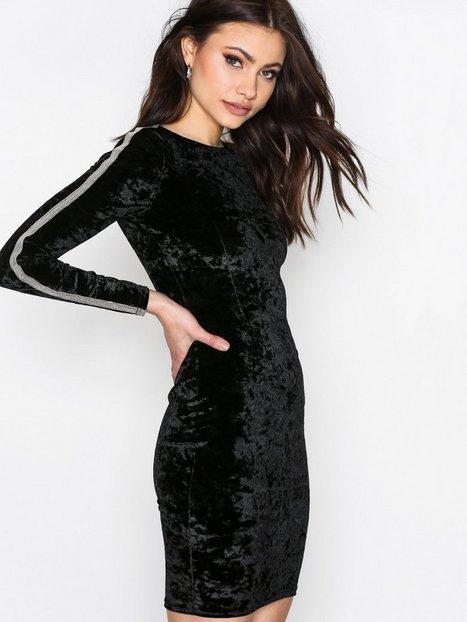 Billede af NLY Trend Brilliant Mini Dress Kropsnære kjoler Sort