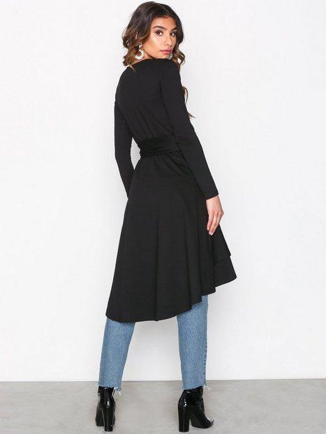 High Low Frill LS Dress