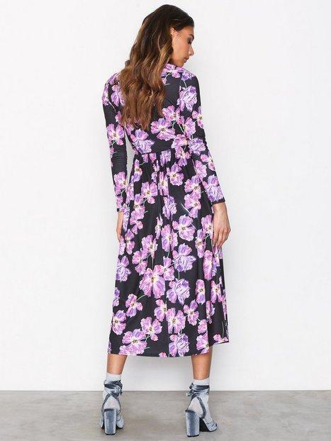 Covered Print Dress
