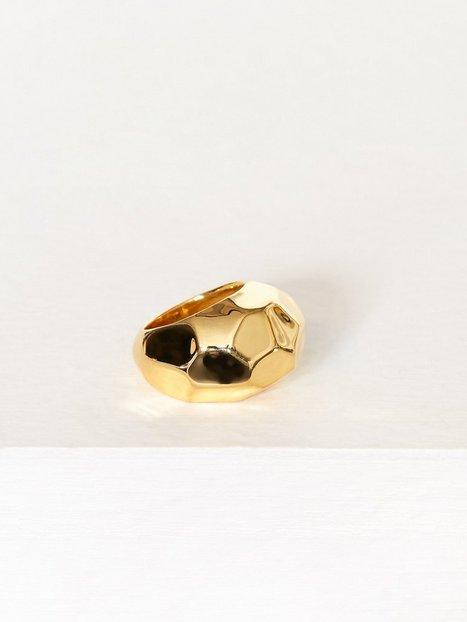 Billede af SOPHIE By SOPHIE Hammered Ring Ring Guld
