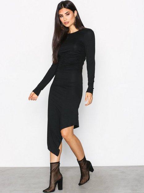 Smock Waist LS Dress