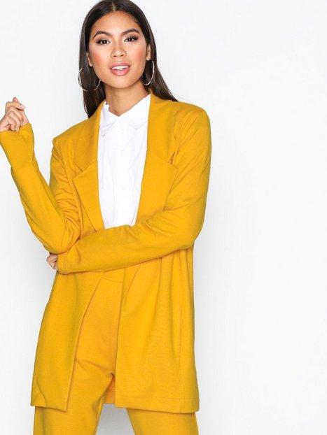 Billede af NLY Trend Perfect Jersey Blazer Blazer Mustard