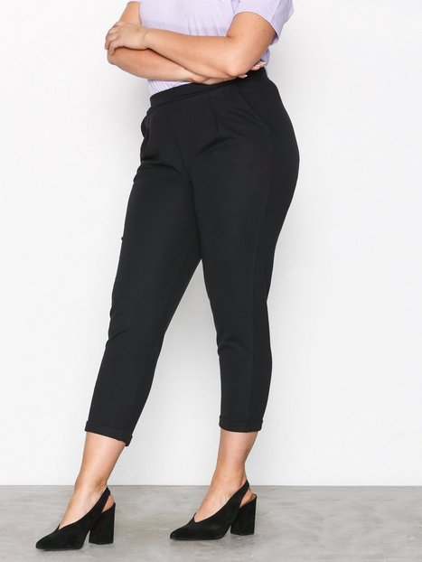 NLY Trend Perfect Jersey Suit Pants Housut Musta thumbnail