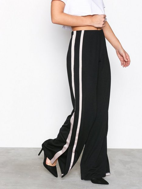 Stripe Crepe Pants