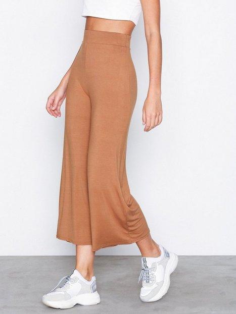 Billede af NLY Trend Basic Culottes Bukser Lys Brun