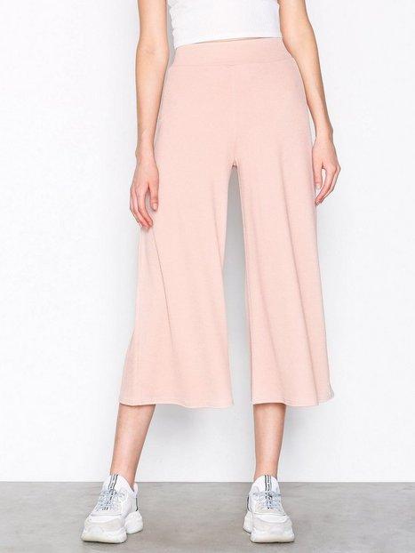 Billede af NLY Trend Culotte Crepe Pants Bukser Beige