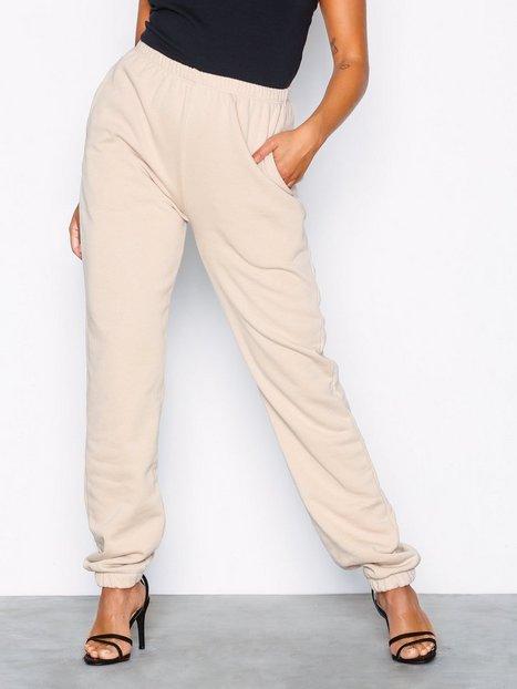 Billede af NLY Trend Cozy Sweat Pants Bukser Beige