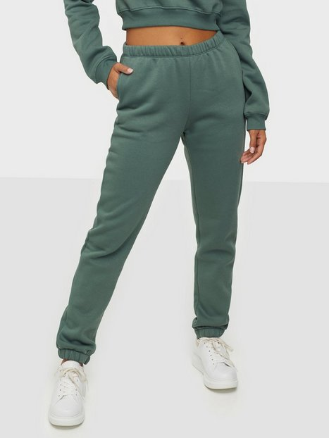 Billede af NLY Trend Cozy Sweat Pants Bukser Grøn