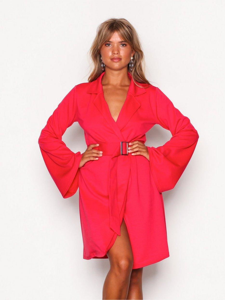 97ba7325 Kvinne Trend Dress Blazer Klær Kjoler Nly Kimono Rød 8xqAnRBwvg
