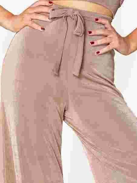 Shoppa Fancy Tie Pants - Online Hos Nelly.com d9197867a9646