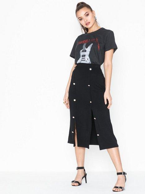 Billede af NLY Trend Button Up Skirt Midi nederdele
