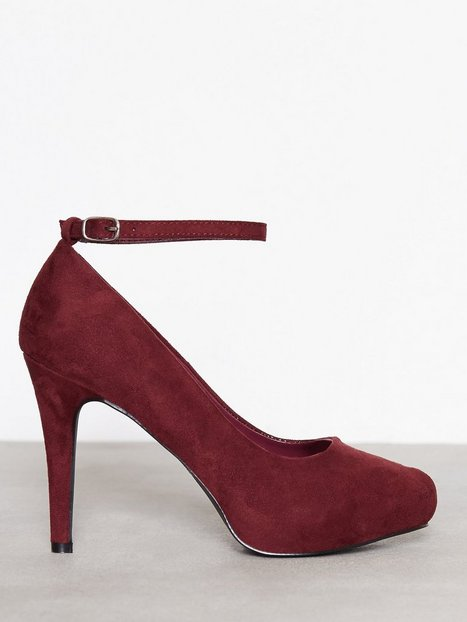 Billede af Duffy Party Heel High Heel Bordo