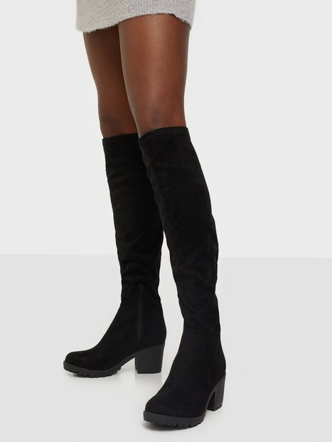 Billede af Duffy Knee High Boot Over the knee Sort