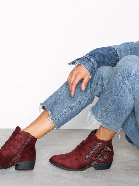 Billede af Duffy Buckle Ankle Boots Boots Bordeaux