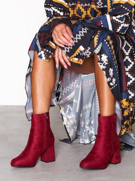 Billede af Duffy Block Heel Boot Heel Bordo