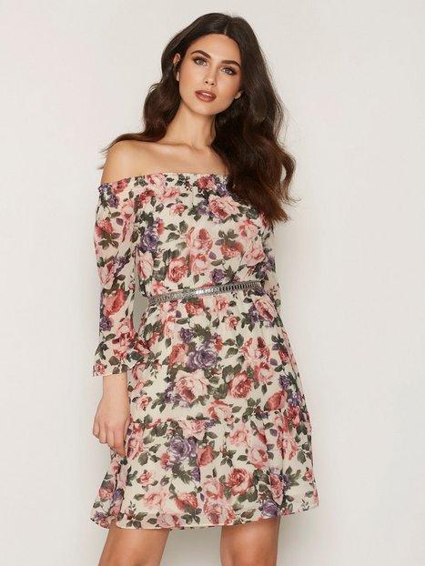 Billede af Dry Lake City Flower Singoalla Dress Loose fit dresses Rose Print