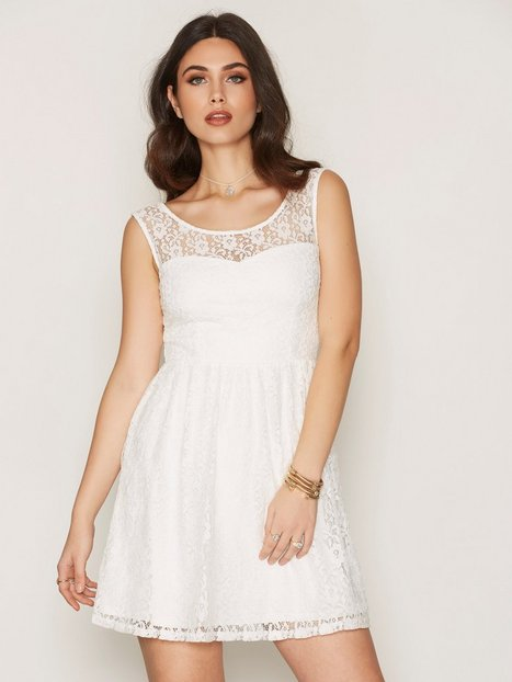 Billede af Dry Lake True Love Dress Skater dresses White