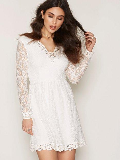 Billede af Dry Lake True Love Sleeve Dress Skater dresses White