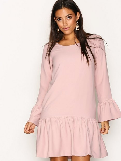 Billede af Dry Lake Magic Frill Dress Festkjoler Light Pink