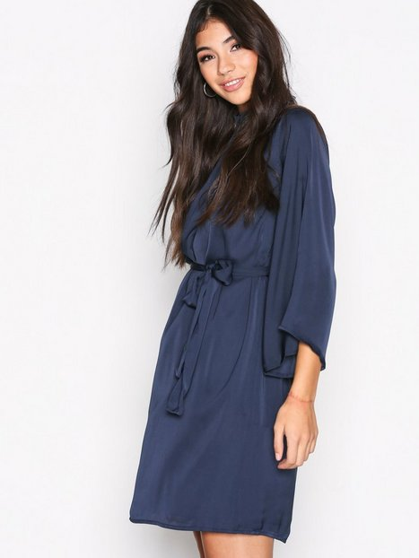 Billede af Dry Lake Amy Dress Loose fit Marine