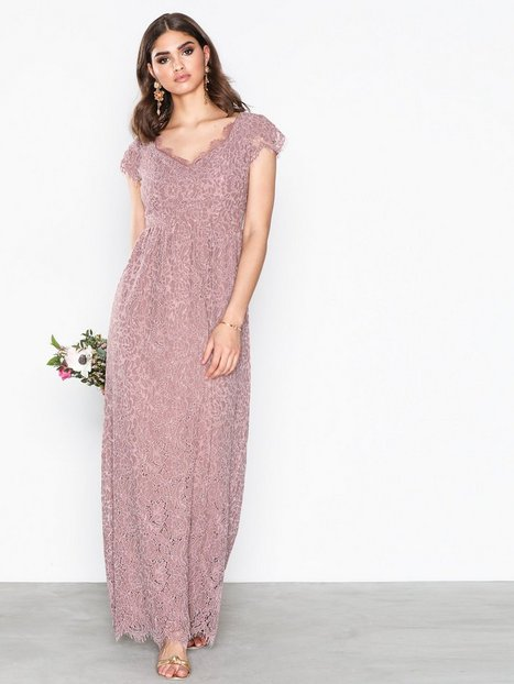 Dry Lake Kayla Long Dress Maksimekot Dusty Rose thumbnail