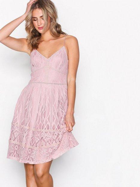 Billede af Dry Lake Lydia Dress Skater kjoler Misty Rose
