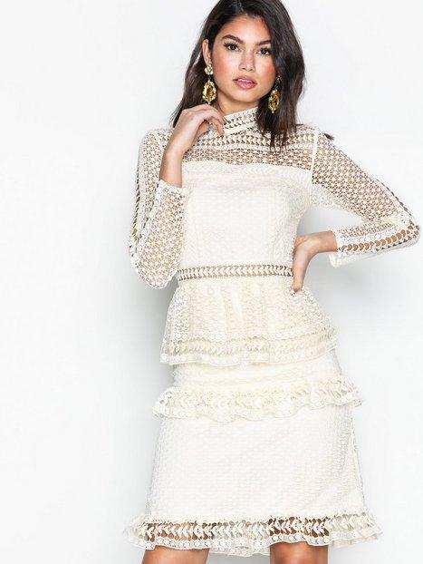 Billede af Dry Lake Julia Dress Kropsnære kjoler White