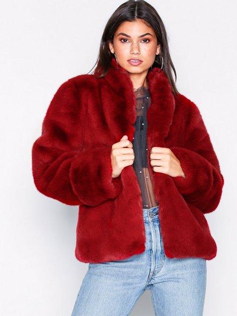 Billede af Dry Lake Smoothie jacket Faux Fur Burgundy