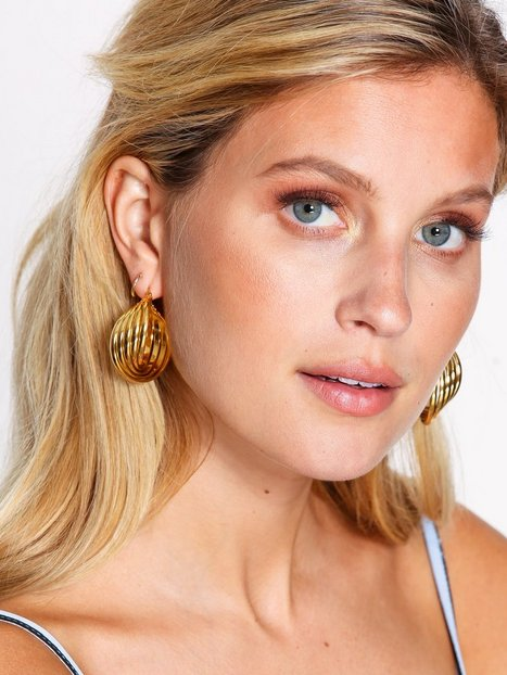 Billede af WOS Turn Earrings Ørering Guld