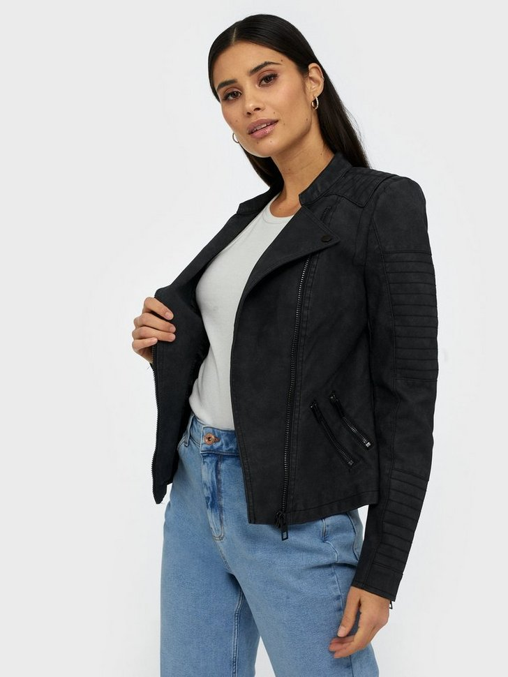 Nelly.com SE - onlAVA FAUX LEATHER BIKER OTW NOOS 499.00