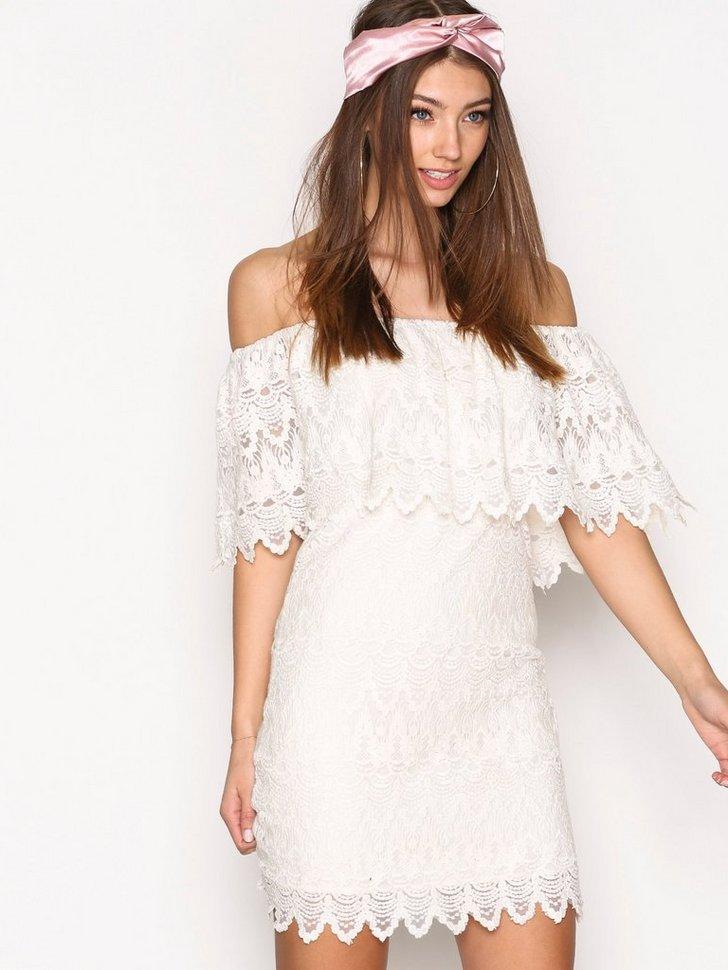 VIWOODSTOCK OFF SHOULDER DRESS DC køb festkjole