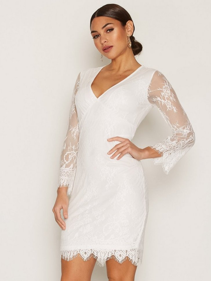 onlHOLICIA LACE DRESS 7 8 WVN køb festkjole
