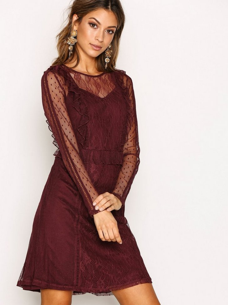 PCLEI LS DRESS D2D køb festkjole