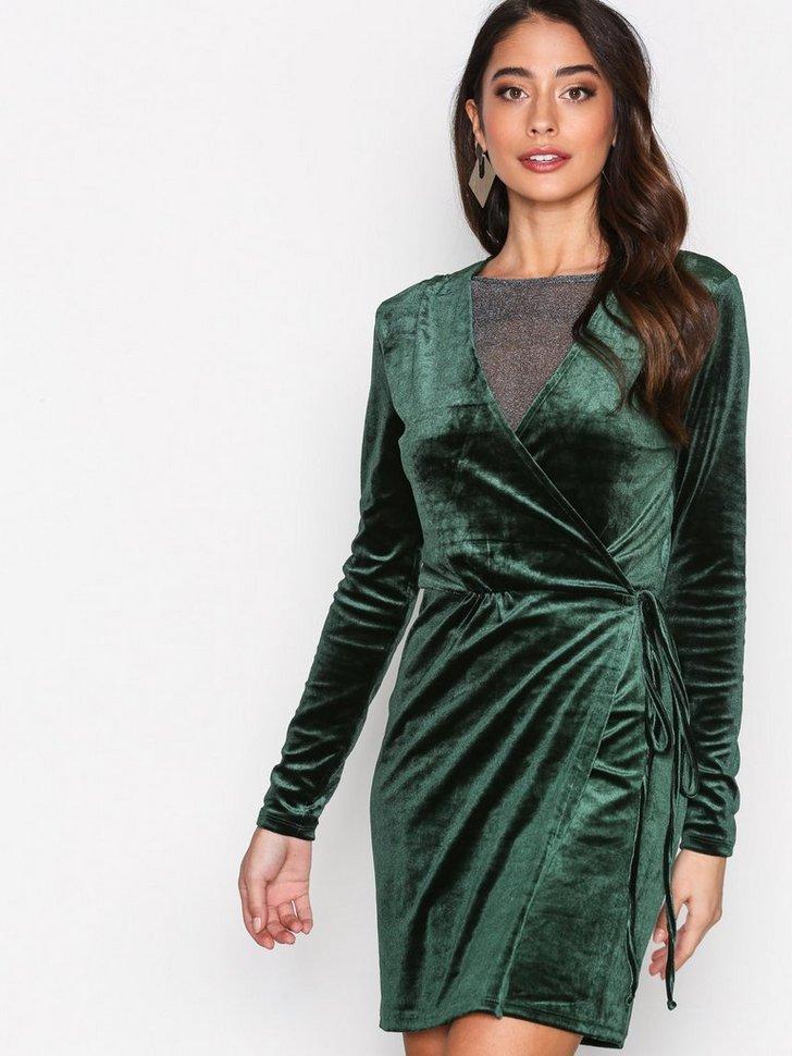 Festkjole VIVELVETINE SHORT DRESS 2 festtøj