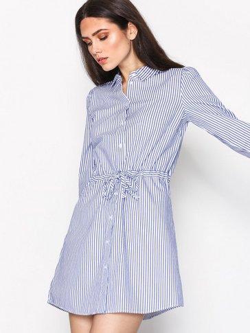 Jacqueline de Yong - JDYLUCKY L/S SHIRT DRESS WVN