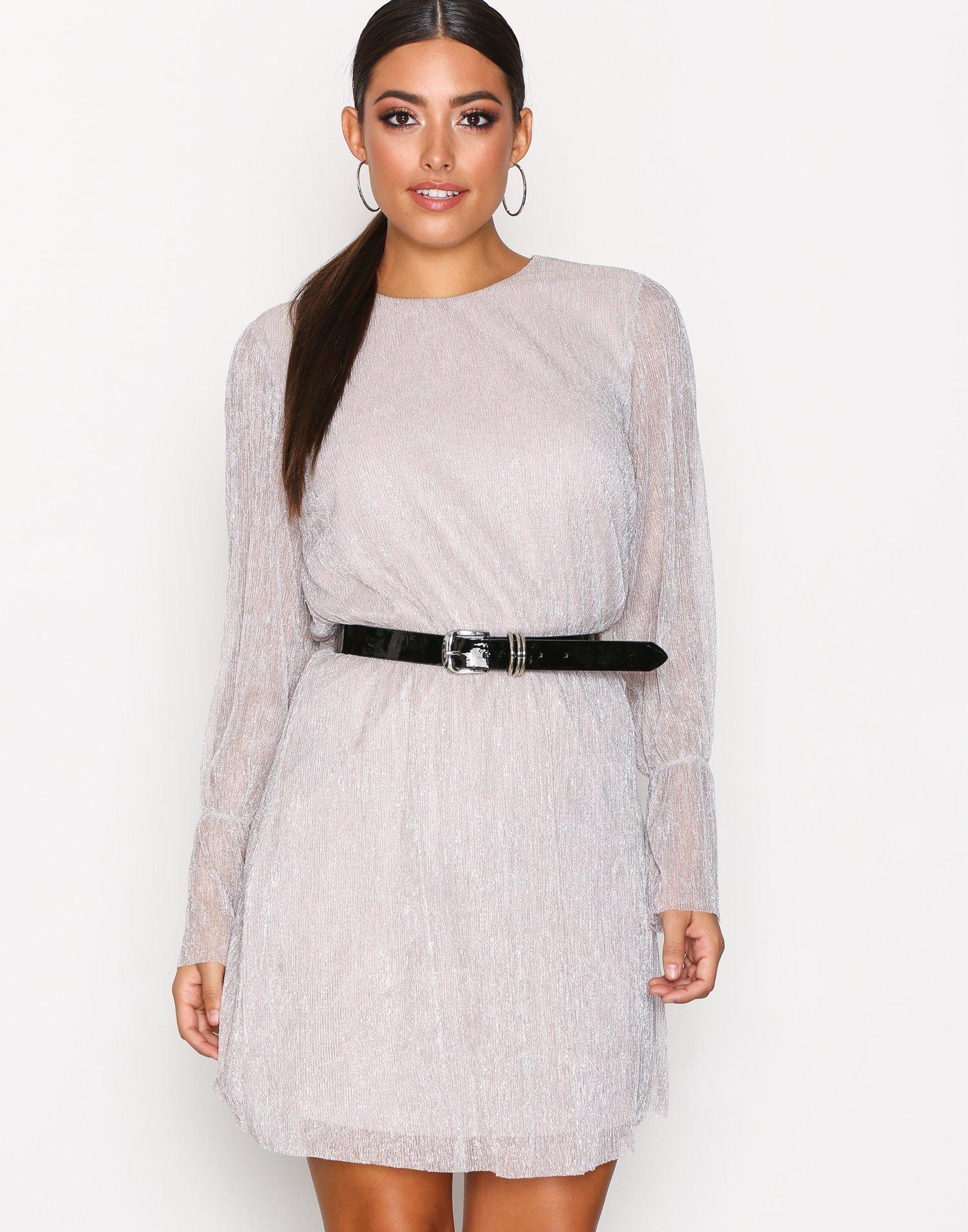 Onl Yade Circular L/S Dress Wvn by Only